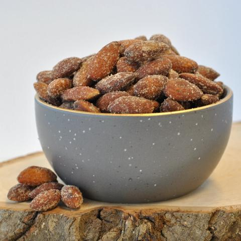 almonds dry roasted & salted